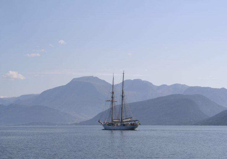 Willkommen Symbolbild Segelschiff